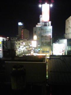 夜の山形市街