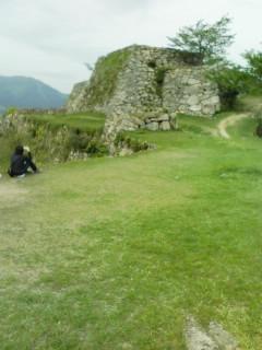 竹田城から姫路城